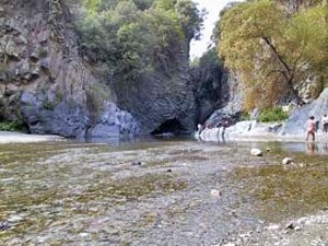 Alcantara gorge. Photo: Fabrizio Raneri