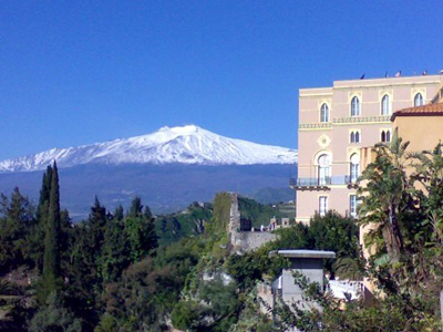 Taormina and Volcano Etna. Photo: Fabrizio Raneri